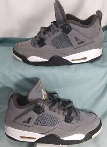 Nike Air Jordan 4 Retro 'Cool Grey', 308497-007, Grey/Black, Men's Size 10.5