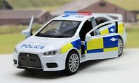 Police Car Mitsubishi Lancer Evolution X Boys Toy Model Dad Boxed Birthday Gift
