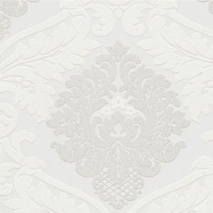 A.S. Création Bling Bling White Glitter Damask Sparkle Luxury Wallpaper 3139-11