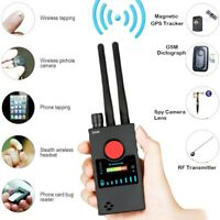 RF Detector Upgraded Wireless Detector Detect RF Radio Frequency GPS Tracker and GSM Audio Bug with Three High Gain Antennas