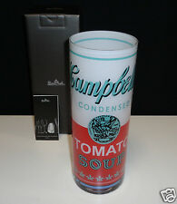 Rosenthal Warhol Campbell's weiß/rot Vase 25 cm  Neu & Ovp 1.Wahl
