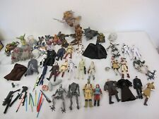 HASBRO STAR WARS FIGURES LOT CLONE WARS - SIXTH STAR AT-RT TROPPERS WEAPONS MORE