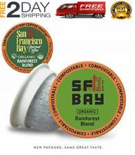 New listing San Francisco Bay OneCup,Organic Rainforest Blend, Single Serve Coffee
