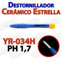 Destornillador Estrella Ceramico YR-034H PH 1,7 ajuste - Arduino Electronica DIY
