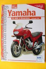 Yamaha XJ 600 S Diversion ab 1992   Reparaturanleitung Handbuch