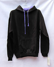 Women's Pacific & Company Hoodie Black/Purple Size XL