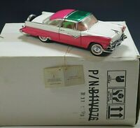 FRANKLIN MINT 1955 FORD FAIRLANE CROWN VICTORIA PINK 1:24 MINT CONDITION #2