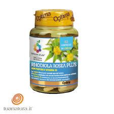 Rhodiola Rosea Plus con Fosforo e Vitamina B6 60 Capsule Optima Naturals