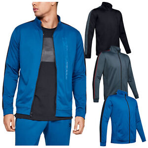 Under Armour Mens Unstoppable Essential Track Jacket UA Gym Training Top