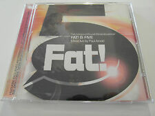 Fat! Is Five - Mixed Live By Paul Arnold (CD Album) Used Very Good