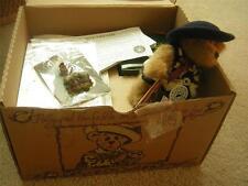 "Boyd Bears & Friends ""Brewin' F.o.B"" 2000 Membership Kit Doll, Pin & Ceramic NEW"
