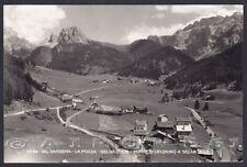 BOLZANO BOZEN VAL GARDENA 05 Gröden POZZA SELVA CIR Cartolina FOTOGR. viag 1955