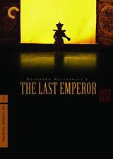 The Last Emperor Criterion Dvd 1987 Bernardo Bertolucci David Byrne R Sakamoto