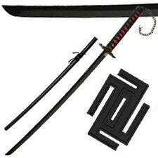 Ichigo Tensa Bankai Sword Cutting Moon Zangetsu Katana Bleach anime cosplay edge