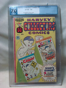 1975 PGX GRADED 7.0 FINE VERY FINE HARVEY COLLECTORS COMIC BOOK
