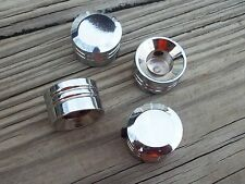 Chrome Head Bolt Cover Set Harley Twin Cam Models 99-Later Evo 85-99 XL 86-Later