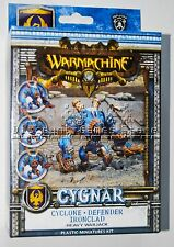 Warmachine Cygnar Cyclone Defender Ironclad PIP 31062 Used Out of the Box