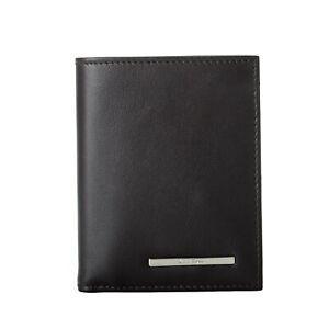 Salvatore Ferragamo Men's Brown 100% Leather Logo Decorated Bifold Wallet