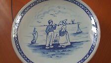 Wandteller Keramik Holland Motiv D 21 cm