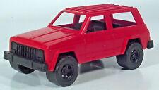 """Vintage Strombecker Tootsietoy Jeep Cherokee 4x4 6"""" Scale Model 1985 1986 1987"""