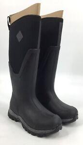 Muck Boots ARCTIC SPORT II TALL Women Sz 7 Winter Warm Waterproof Black AS2T-000