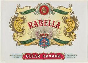 Rabella - Clear Havana - Cigar Box Label