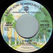 BUCK OWENS It's Been A Long Long time ((**NEW UNPLAYED 45 DJ**)) from 1976