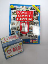 Hamburg sammelt Hamburg 2 blau 1 Album + 1 Display (50 Tüten) / Panini / Sticker