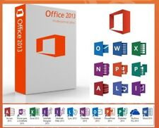Microsoft Office 2013 Professional Plus 1 PC Lizenz Key Datenträger Vollversion