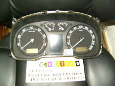 Velocímetro combi instrumento skoda Octavia 1u0920841b Clock cl