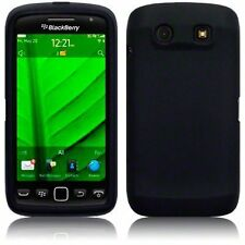 Silicone Skin Case for Blackberry Storm 3 9570 - Black
