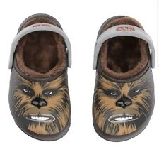 ca057fb53 CROCS Chewbacca Star Wars Lined Clogs Child  Toddler Size C13 NWT