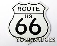 Nueva ruta de aluminio 66 nos señal de tráfico coche insignia EE. UU. coche del músculo