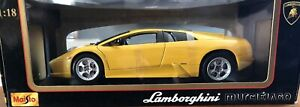 Maisto Special Edition Lamborghini Murcielago Super Car 1:18 New In Box