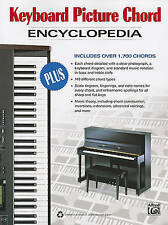 NEW Keyboard Picture Chord Encyclopedia