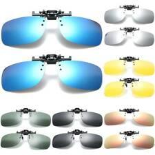 Polarized Flip Up Clip On Sunglasses Fishing UV Protection Glasses For Men Women