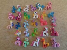 my little pony figures x 28 small ponyville