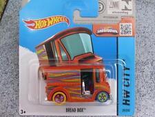 Hot Wheels 2015 #029/250 BREAD BOÎTE orange HW CITY étui N