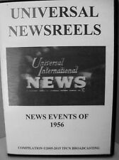 UNIVERSAL NEWSREELS 1956 (DVD)