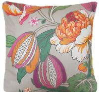 "Manuel Canovas Cushion Cover Parfum D'ete Chinoiserie Floral Fabric 16"" 18"" 20"""