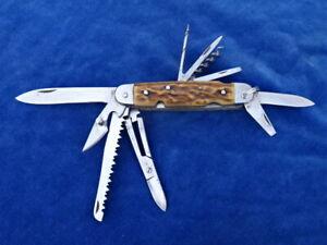 RARE ! COUTEAU DE POCHE Pocket knife - VERITABLE ISSARINOX 12 FONCTIONS