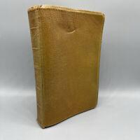 NIV HOLY BIBLE New International Version Brown Leather Zondervan 1978
