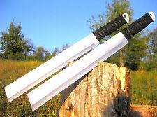2 unidades Massive machete 48 cm plata huntingknife machette coltello couteau m034