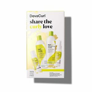 Deva Curl Share The Wavy Love Kit Contains 4 Low-Poo Delight Items New