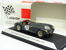 Starter Factory Built 1/43 - Jaguar XK120 C Winner Le Mans 1951