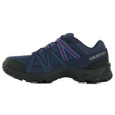 Salomon Deepstone Laufschuhe Outdoorschuhe Wanderschuhe Hiking Trail blau 408741