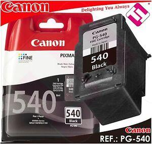 Ink Black Canon Pg 540 Original Cartridge Black Printer PG-540 Economy