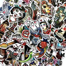 50Pcs/Set Stickers Vinyl Skateboard Guitar Travel Case sticker pack decals Mix