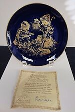 """Vtg Lindner 'Holy Night' A Childs Christmas 7 3/4"""" Collector Plate 1978 H H Liks"""