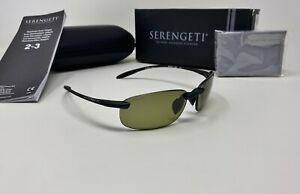 Serengeti® 8446 NUVOLA Black Sunglasses POLAR PhD 2.0 555Nm Photochromic Lens